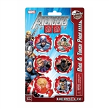 Marvel HeroClix: Avengers Assemble Dice and Token Pack (Captain America) (Presell)