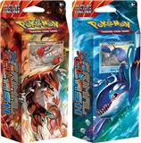 Pokemon XY Primal Clash Theme Deck - Set of 2 (Earth's Pulse, Ocean's Core) (Presell)