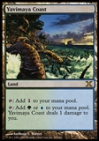 Magic the Gathering 10th Edition Single Yavimaya Coast FOIL - SLIGHT PLAY (SP)