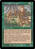 Magic the Gathering Urza's Legacy Single Yavimaya Granger Foil UNPLAYED