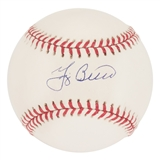 Yogi Berra Autographed New York Yankees Official MLB Baseball (Berra Family COA)
