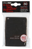 Ultra Pro Yu-Gi-Oh! Size Hi-Gloss Black Deck Protectors (50 Count Pack)