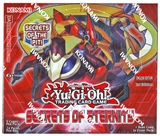 Konami Yu-Gi-Oh Secrets of Eternity 1st Edition Booster Box
