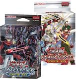 Konami Yu-Gi-Oh Saber Force & Dark Legion Starter Deck Box