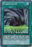 Yu-Gi-Oh Legendary Collection Single Fusion Gate Super Rare 1st Edition - SLIGHT PLAY