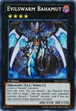 Yu-Gi-Oh Hidden Arsenal Single Evilswarm Bahumut Secret Rare 1st Edition - NEAR MINT