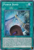 Yu-Gi-Oh Legendary Collection Single Power Bond Secret Rare 1st Edition - SLIGHT PLAY