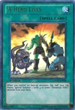 Yu-Gi-Oh Generation Force 1st Ed. Single A Hero Lives Ultra Rare - SLIGHT PLAY (SP)