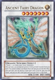 Yu-Gi-Oh Ancient Prophecy 1st Ed. Single Ancient Fairy Dragon Ultra Rare - NEAR MINT