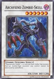 Yu-Gi-Oh Ancient Prophecy Single Archfiend Zombie-Skull Super Rare - SLIGHT PLAY (SP)