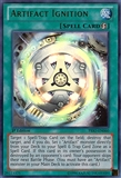 Yu-Gi-Oh Primal Origin 1st Ed. Single Artifact Ignition Ultra Rare - NEAR MINT (NM)