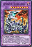 Yu-Gi-Oh Collectible Tins Single Chimeratech Fortress Dragon Super Rare - SLIGHT PLAY (S