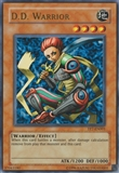 Yu-Gi-Oh Tournament Pack 7 Single D.D. Warrior Ultra Rare - MODERATE PLAY (MP)