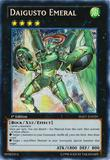 Yu-Gi-Oh Hidden Arsenal 1st Ed. Single Daigusto Emeral Secret Rare - SLIGHT PLAY (SP)