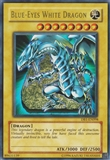 Yu-Gi-Oh Dark Beginning 1 Single Blue-Eyes White Dragon Ultra Rare - MODERATE PLAY (MP)