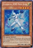Yu-Gi-Oh Ra Yellow Mega-Pack 1st Ed. Single Elemental HERO Neos Alius Secret Rare - NM