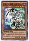 Yu-Gi-Oh Dimension of Chaos 1st Ed. Single Evening Twilight Knight Super Rare - NEAR MINT (NM)