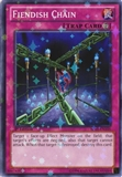 Yu-Gi-Oh 1st Edition Single Fiendish Chain Star Foil - NEAR MINT (NM)