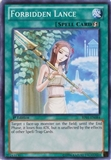 Yu-Gi-Oh Battle Pack Epic Dawn 1st Ed. Single Forbidden Lance Common - NEAR MINT (NM)