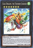 Yu-Gi-Oh Galactic Overlord 1st Ed. Single Gaia Dragon, the Thunder Charger Super Rare
