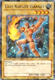 Yu-Gi-Oh Duel Terminal 1st Edition Single Gem-Knight Garnet Super Rare- NEAR MINT (NM)