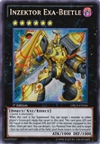 Yu-Gi-Oh Order of Chaos 1st Ed. Single Inzektor Exa-Beetle Secret Rare - NEAR MINT (NM)