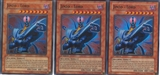 Yu-Gi-Oh Light of Destruction PLAYSET Jinzo - Lord Super Rare X3 - NEAR MINT (NM)