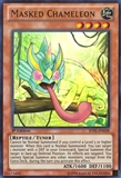 Yu-Gi-Oh Judgment of Light 1st Edition Single Masked Chameleon Ultra Rare - SLIGHT PLAY