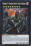 Yu-Gi-Oh Number Hunters 1st Ed. Single Number 15: Gimmick Puppet giant Grinder Secret