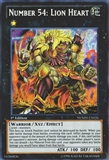 Yu-Gi-Oh Number Hunters Single Number 54: Lion Heart Secret Rare - NEAR MINT (NM)