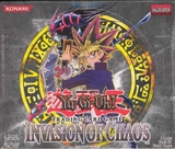 Upper Deck Yu-Gi-Oh Invasion of Chaos Unlimited Booster Box