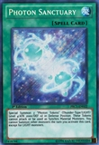 Yu-Gi-Oh Promotional 1st Ed. Single Photon Sanctuary Secret Rare - NEAR MINT (NM)