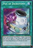 Yu-Gi-Oh Shadow Specters Single Pot of Dichotomy Secret Rare - NEAR MINT (NM)