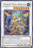 Yu-Gi-Oh Raging Battle 1st Edition Single Power Tool Dragon Ultra Rare - NEAR MINT