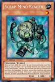 Yu-Gi-Oh Starstrike Blast 1st Edition Single Scrap Mind Reader Secret Rare STBL-EN084