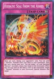 Yu-Gi-Oh Galactic Overlord 1st Ed. Single Hieratic Seal from the Ashes Secret Rare - SLIGHT PLAY (SP)