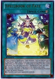 Yu-Gi-Oh Abyss Rising 1st. Ed. Single Spellbook of Fate ULTRA Rare - NEAR MINT (NM)