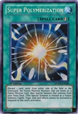 Yu-Gi-Oh Ra Yellow Mega-Pack 1st Ed. Single Super Polymerization Secret Rare - NM