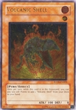 Yu-Gi-Oh Force of the Breaker 1st Ed. Single Volcanic Shell Ultimate Rare - SLIGHT PLAY (SP)