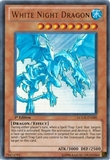 Yu-Gi-Oh Legendary Collection 1st Edition Single White Night Dragon Ultra Rare EN205