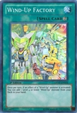 Yu-Gi-Oh Generation Force 1st. Ed. Single Wind-up Factory Super rare - NEAR MINT (NM)