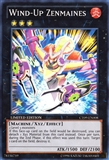 Yu-Gi-Oh Collectible Tins Single Wind-up Zenmaines Super Rare - NEAR MINT (NM)