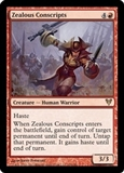 Magic the Gathering Avacyn Restored Single Zealous Conscripts Foil
