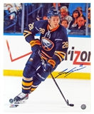 Zemgus Girgensons Autographed Buffalo Sabres 16x20 Hockey Photo