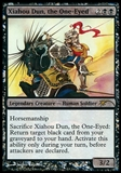 Magic the Gathering Promotional Single Xiahou Dun, the One-Eyed JUDGE FOIL - NEAR MINT