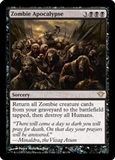 Magic the Gathering Dark Ascension Single Zombie Apocalypse Foil