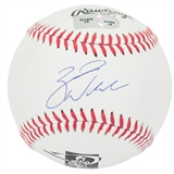 Zack Wheeler Autographed New York Mets MLB Players Choice Baseball (MLB COA)