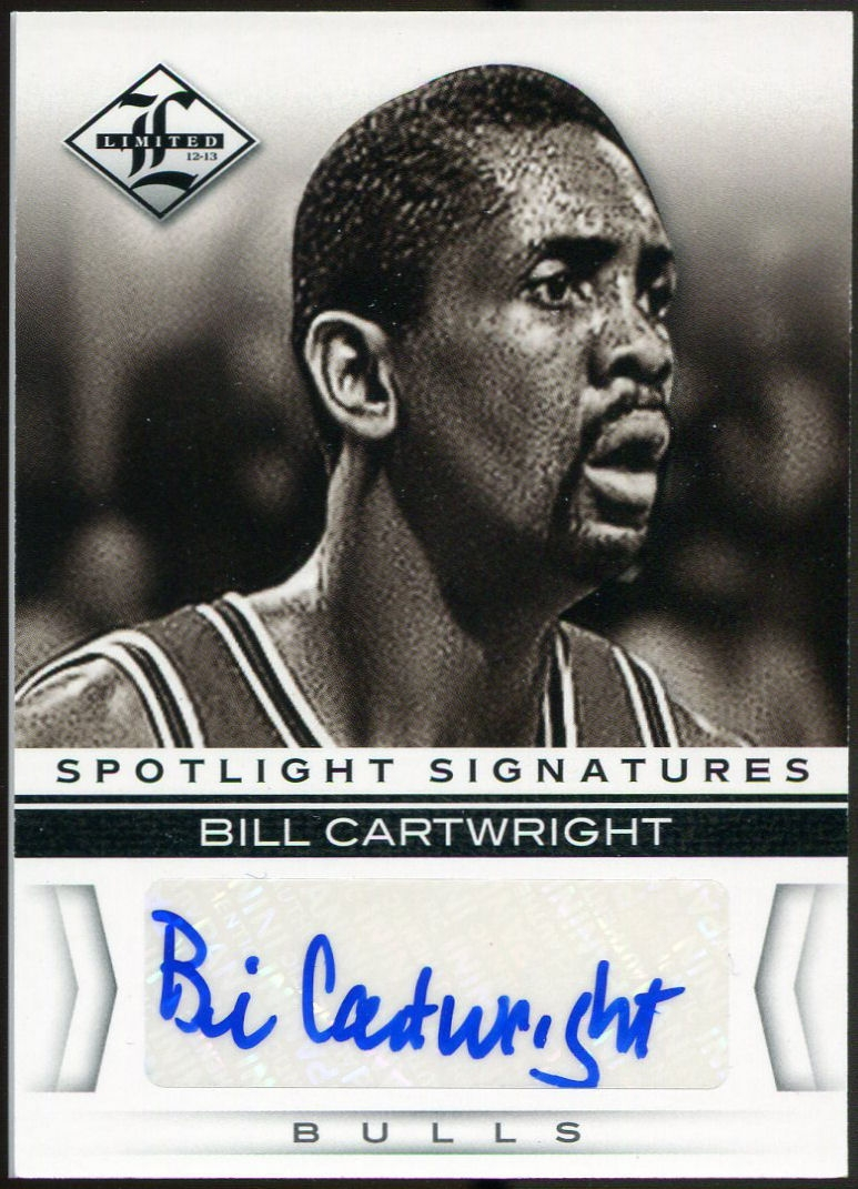 2012 13 Panini Limited Spotlight Signatures 37 Bill Cartwright
