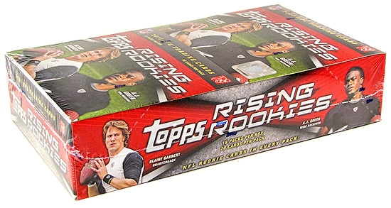 2011 topps rising rookies football rack pack box 18 packs da card world. Black Bedroom Furniture Sets. Home Design Ideas