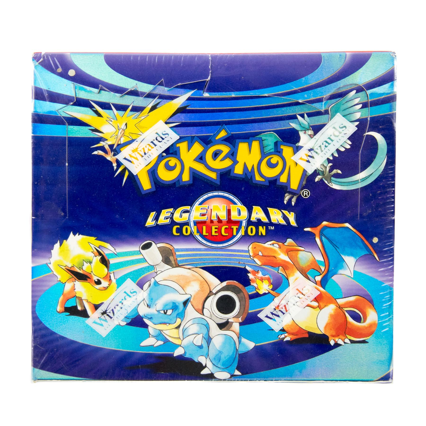 Pokemon Legendary Collection Booster Box - EXTREMELY RARE ...